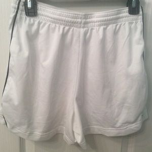 Nike women's white shorts